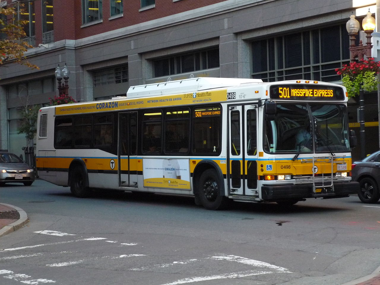 File Mbta Route 501 Bus On Kingston Street September 2014