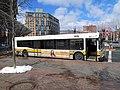 MBTA route 608 bus at Haymarket, March 2016.JPG