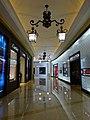 MC 澳門 Macau 路氹城 Cotai 四季名店 Shoppes at Four Seasons mall interior corridor ceiling lamps Nov 2016 LV n Cartier.jpg