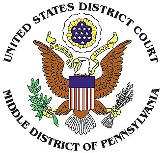 Kitzmiller v. Dover Area School District - Image: MD pa seal