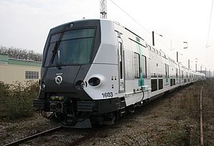 Société Franco-Belge - MI 09 train (Alstom/Bombardier) for RER (2011)