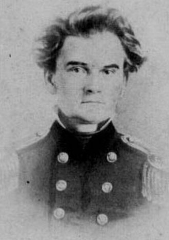 Mosby Monroe Parsons - photographed in the early 1860s