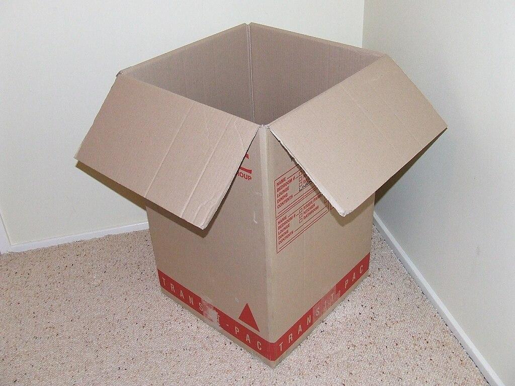 Image Result For Open Top Cardboard