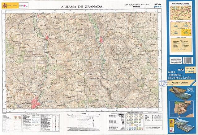 Mapa Alhama De Granada.File Mtn25 1025c4 2014 Alhama De Granada Jpg Wikimedia Commons