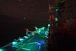 MV-22 Ospreys conduct night-vision device flight operations aboard USS Makin Island. (30902772984).jpg