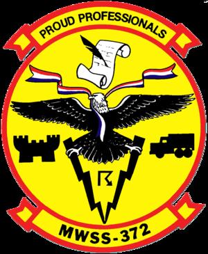 Marine Wing Support Squadron 372 - Old squadron insignia.