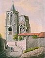 Maastricht, ruïne Antonietenkerk (Ph v Gulpen, 1840).jpg
