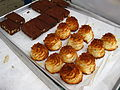 Macaroons and bars, November 2008.jpg