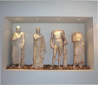 Kilkis - Exhibits at the Archaeological Museum of Kilkis