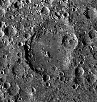 Mach (crater) - LRO image