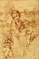Madonna col Figlio e S. Giovannino - Sanzio Raffaello.png