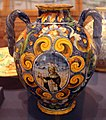 Maestro domenico da venezia, vaso con sant'antonio, 1550-1600 ca..JPG