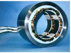 Magnetic bearing - A magnetic bearing