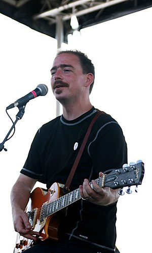 Jason Molina - Molina performing with Magnolia Electric Co. in Brooklyn, New York City, 2009