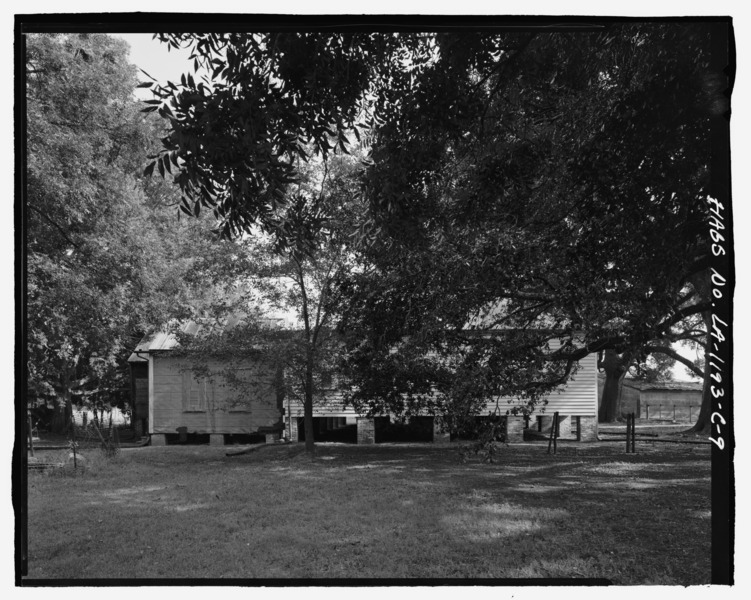 File:Magnolia Plantation, Overseer's House, LA Route 119, Natchitoches, Natchitoches Parish, LA HABS LA,35-NATCH.V,2-C-9.tif