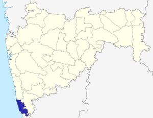Sindhudurg district - Image: Maharashtra Sindhudurg