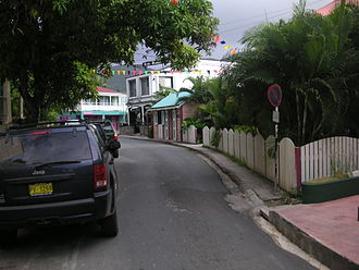 Road Town - Image: Main Street, Road Town, Tortola