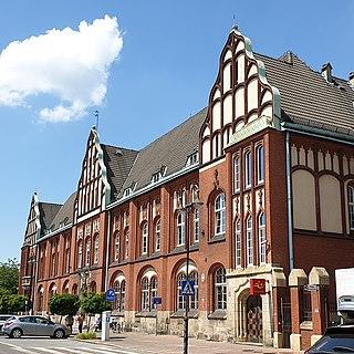 Zabrze Place in Silesian Voivodeship, Poland