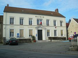 The town hall of Breuillet