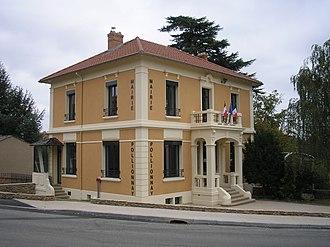 Pollionnay - The town hall of Pollionnay