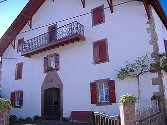 Ossès - Basque house