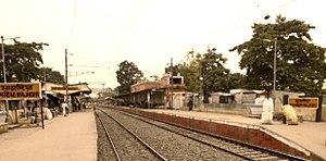 Majhdia - Majdia Railway station