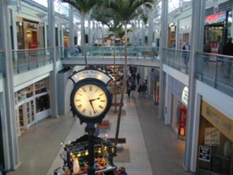 The Mall in Columbia - The Mall in Columbia, interior view, original section