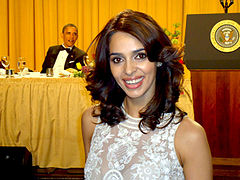 Wikipedia: Mallika Sherawat at Wikipedia: 240px-Mallika_Sherawat_at_White_House_Correspondents_Dinner