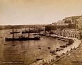 Malta; view of the harbour and adjacent buildings. Photograp Wellcome V0037538.jpg