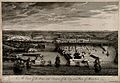 Malta; view of the port. Etching by M-A. Benoist, c. 1770, a Wellcome V0014681.jpg