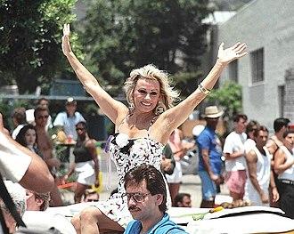 Mamie Van Doren - Mamie Van Doren in Los Angeles, California, 1987