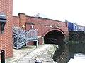 Manchester, Ashton Canal, Jutland Street bridge 2 - geograph.org.uk - 1700243.jpg