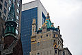 Manhattan turrets, New York, 5 April 2011 - Flickr - PhillipC.jpg
