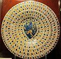 Manises, piatto con stemma nori, 1450-1480 ca..JPG