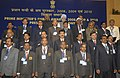 Manmohan Singh with the Prime Minister's Shram Awardees for the years 2008, 2009 and 2010, at a function, in New Delhi on October 13, 2011. The Union Minister for Labour and Employment, Shri Mallikarjun Kharge is also seen.jpg