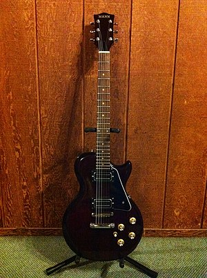 "Ibanez - Mid-1970's ""Lawsuit Era"" solid body, Set neck, Mann/Ibanez electric guitar"