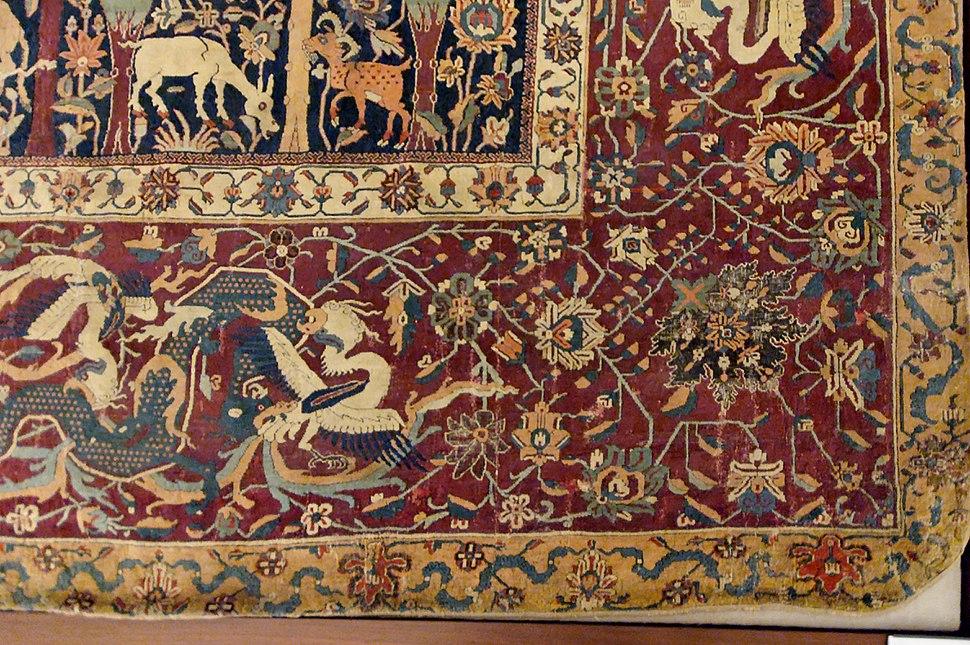 Mantes carpet Louvre OA6610 detail1