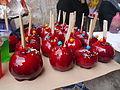 Manzanas acarameladas y decoradas.JPG