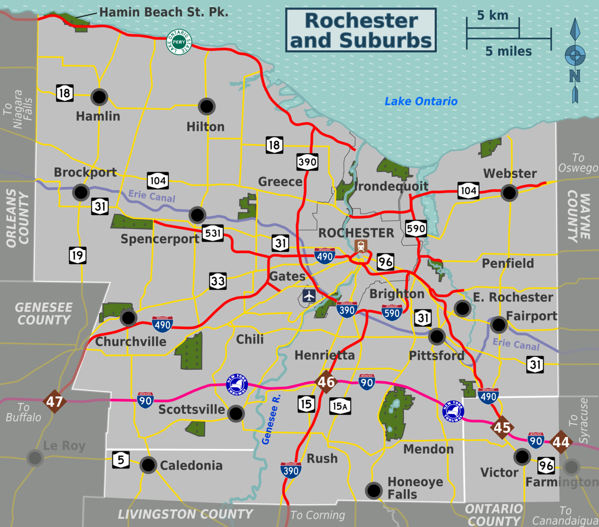 Rochester And Suburbs Travel Guide At Wikivoyage