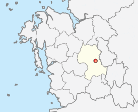 Location of Gongju