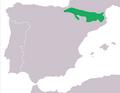 Mapa Calotriton asper.png