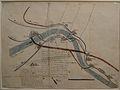 Mapa del río Palancia y poblaciones de Algar y Sagunto (año 1760).JPG