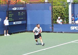Marcos Baghdatis - Baghdatis at the 2004 US Open