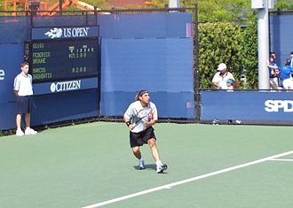 Marcos Baghdatis - Baghdatis at the 2004 US Open