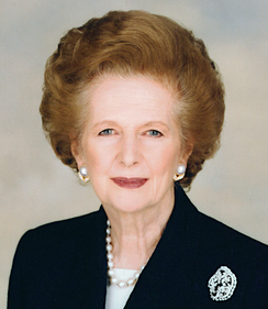 Thatcherism politics of Margaret Thatcher