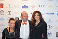 Maria Brauner; Leonard Müller; Alice Brauner beim Askania Award 2016.jpg