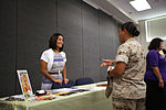 Marines celebrate women's achievements during Women's Equality Day 150902-M-MB391-002.jpg