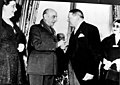 Marshal Papagos, the Prime Minister of Greece, with René Coty, President of France.jpg
