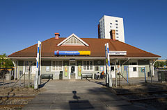 Marsta railway station north of Stockholm.jpg
