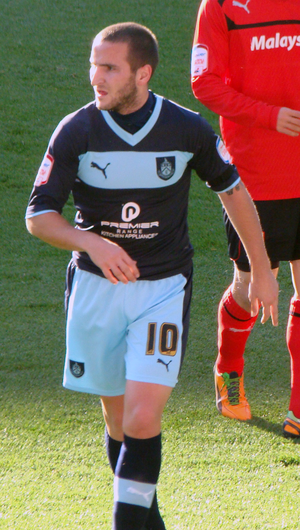 Martin Paterson - Paterson playing for Burnley in October 2012.
